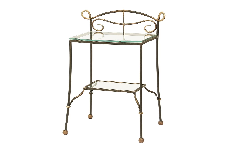 Прикроватный стол со стеклом «Муза»