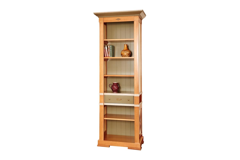 Шкаф книжный узкий «Пьер»