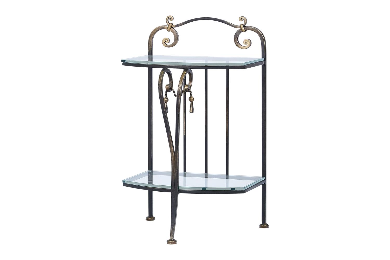 Прикроватный стол со стеклом «Елизавета»
