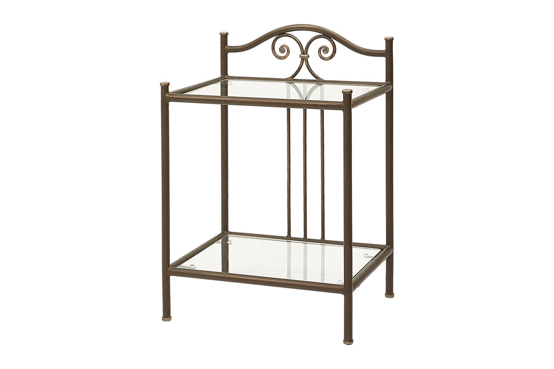 Прикроватный стол со стеклом «Надежда»