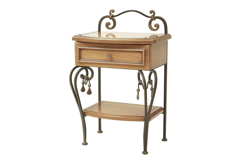 Прикроватный стол с ящиком и полкой «Елизавета»