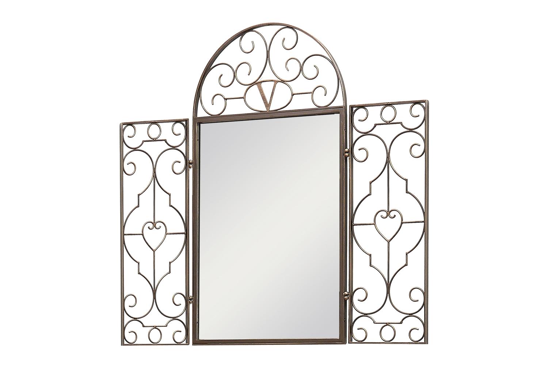 Зеркало со створками «Прованс»